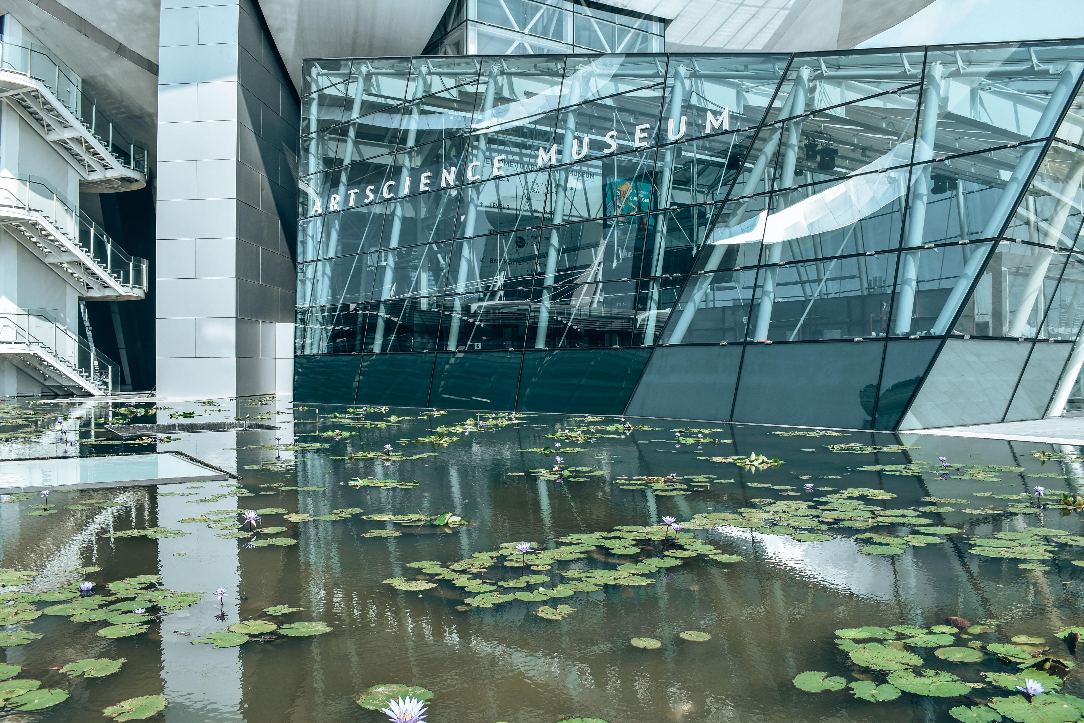 Wejście do ArtScience Museum