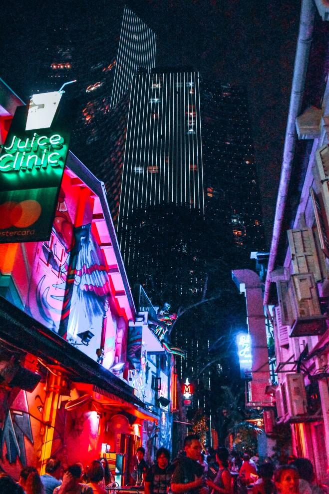 Haji Lane - hipsterska ulica w Singapurze