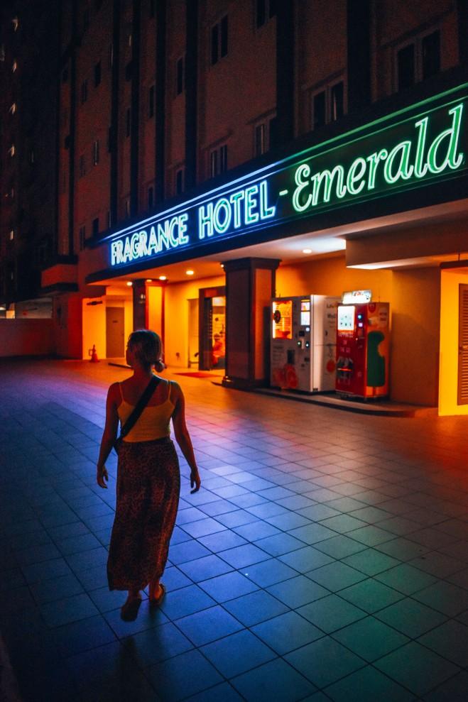 Gdzie spać w Singapurze? My wybraliśmy Fragrance Hotel — Emerald