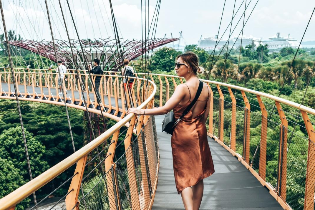 Skyway w Gardens by the Bay