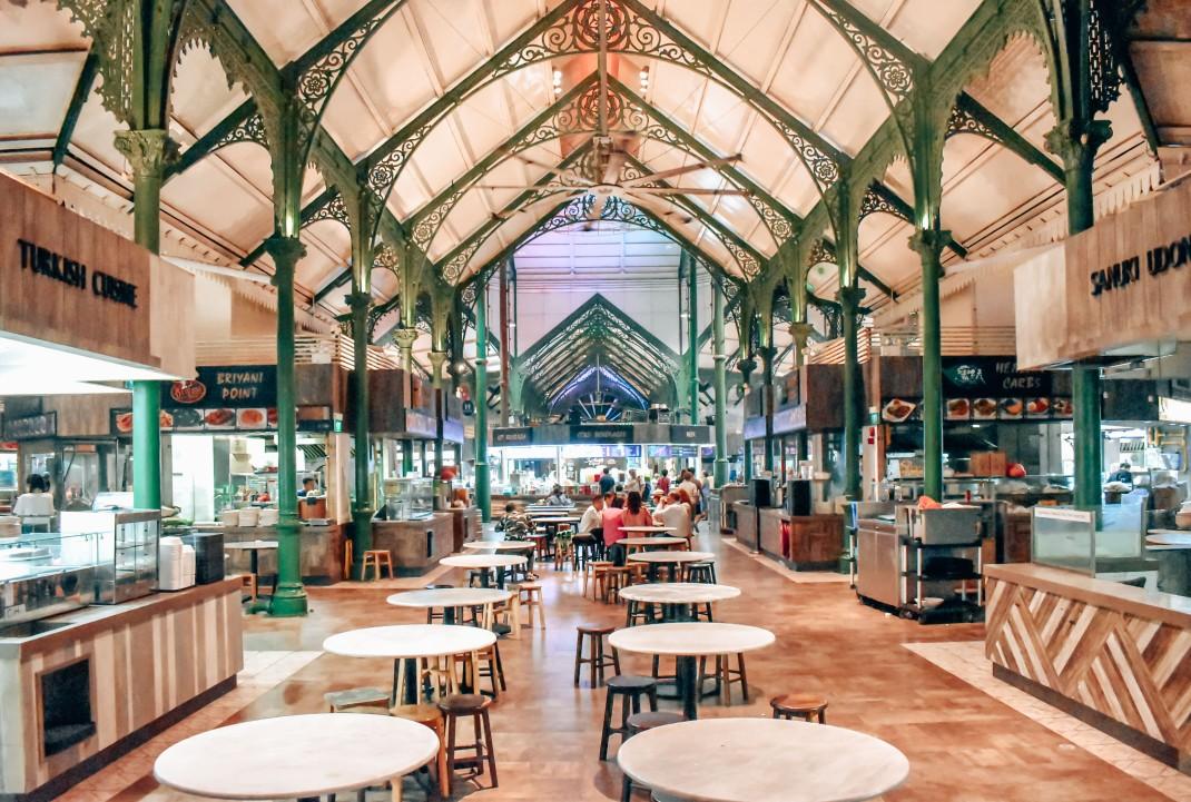 Food court w Singapurze