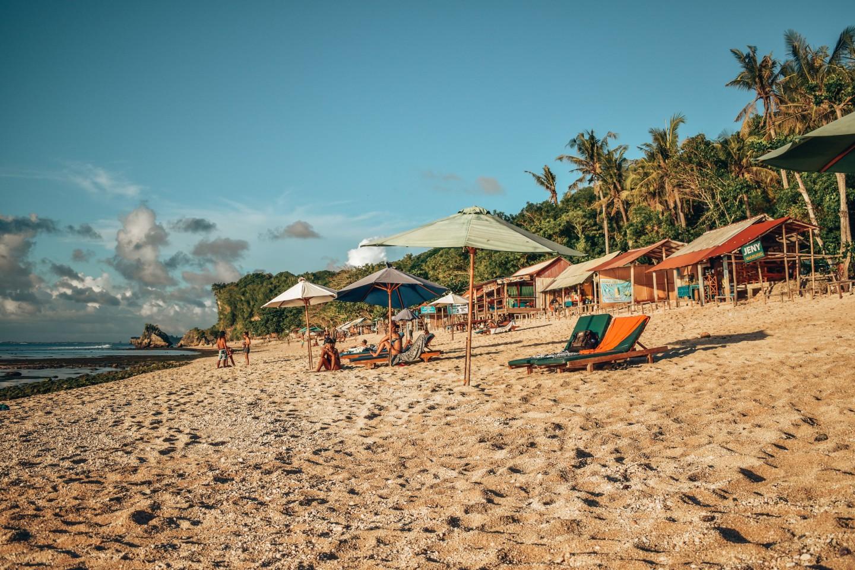 Plaża w Thomas Beach
