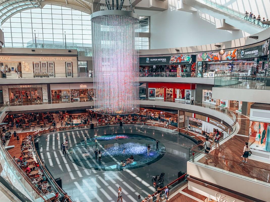 Centrum handlowe w Singapurze