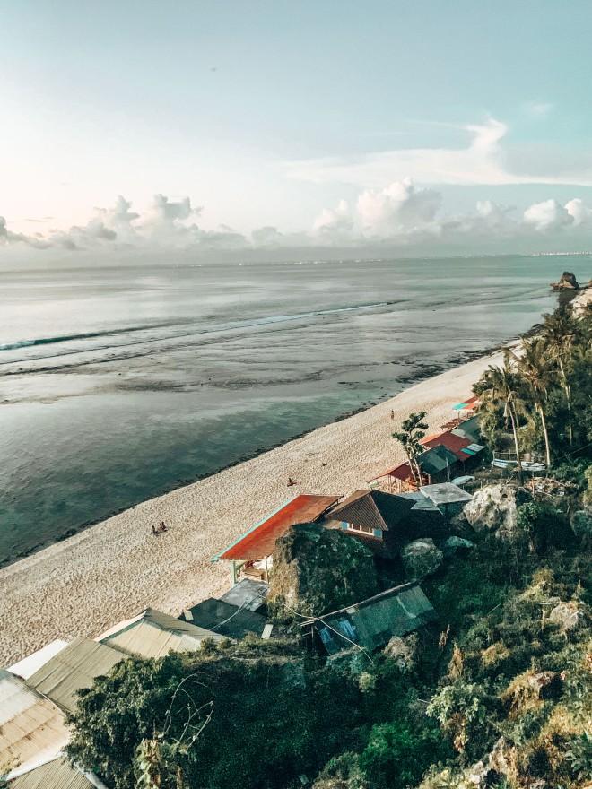 Widok na Thomas Beach