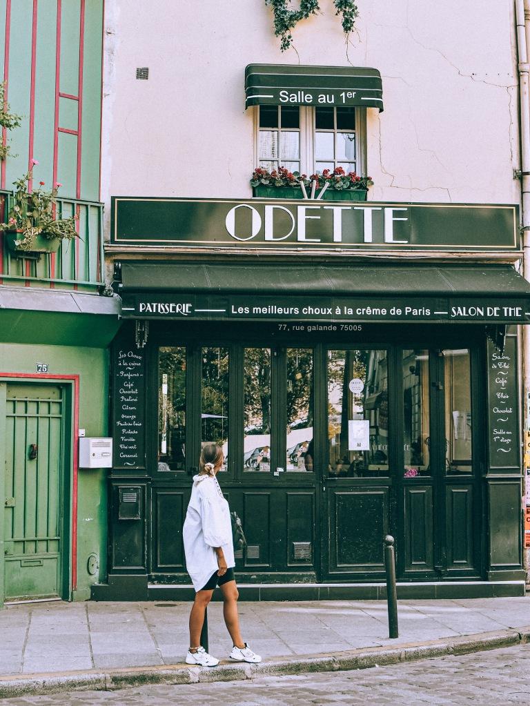 Odette, Paryż
