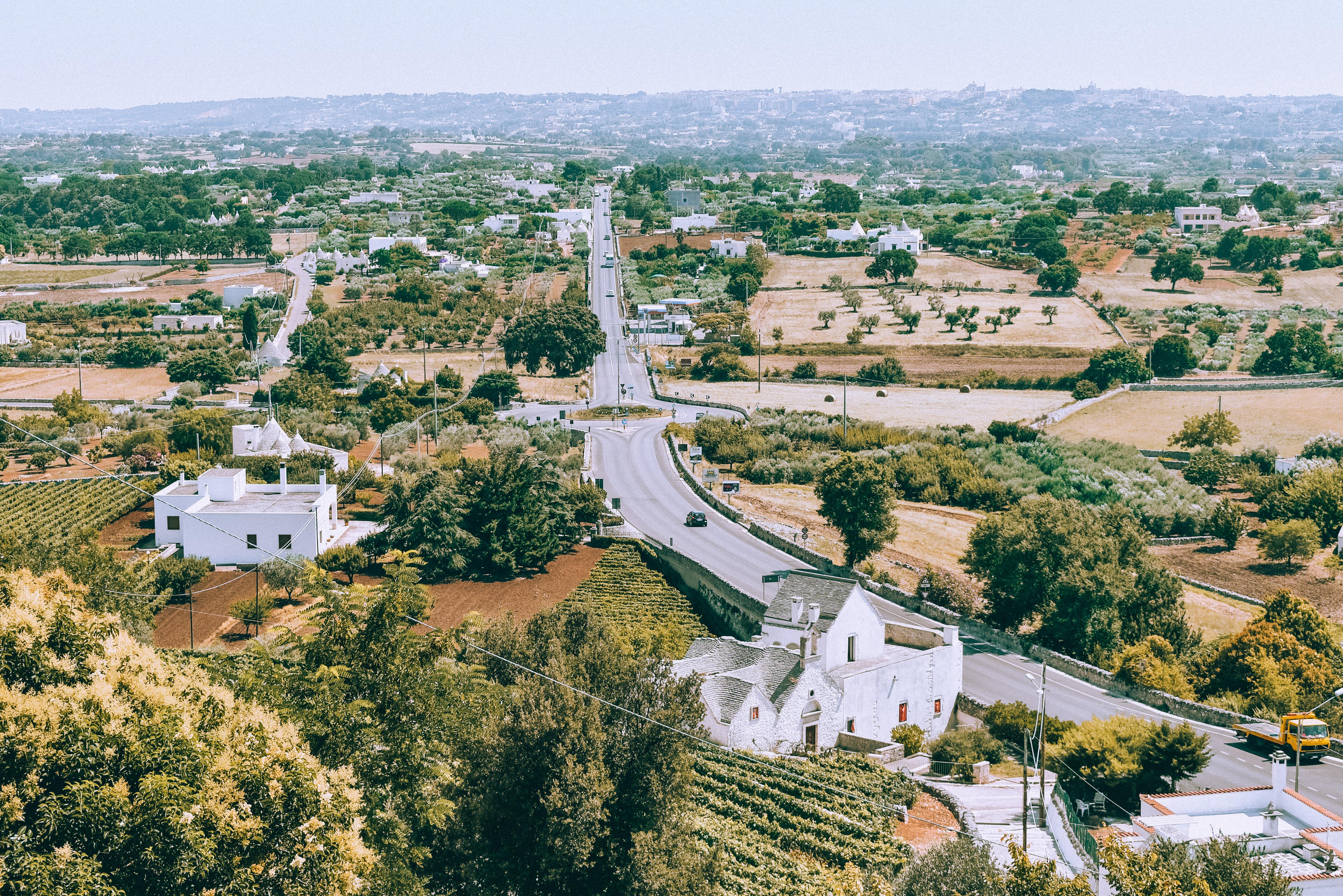 Widok z Villa Comunale Giuseppe Garibaldi